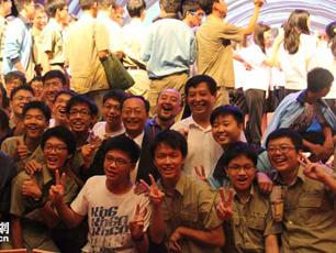 北京电影学院与台南一中:歌声与微笑的亲密接触