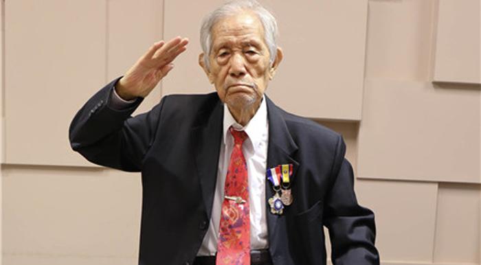 老兵陶士君:故乡繁荣超台湾 国家强盛无人敢再欺