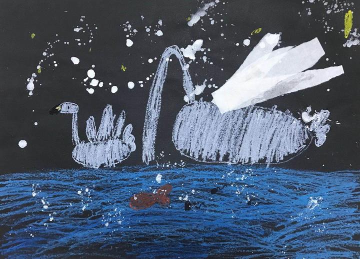 尹安江《优雅的白天鹅》-5岁-广东.jpg