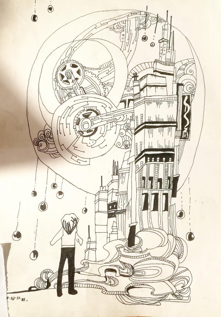 季天情《机械世界》-9岁-山东.jpg