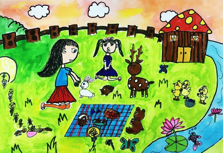 庄娜《我的邻居小伙伴》-8岁-广东.jpg
