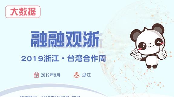 【融融大数据】2019浙江·台湾合作周