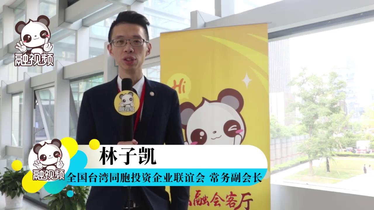 """全国台企联常务副会长林子凯提议""""杭台携手一起创""""图片"""