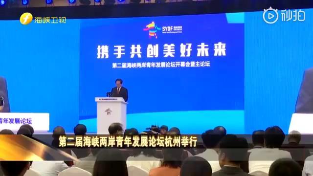 第二届海峡两岸青年发展论坛在杭州举行图片